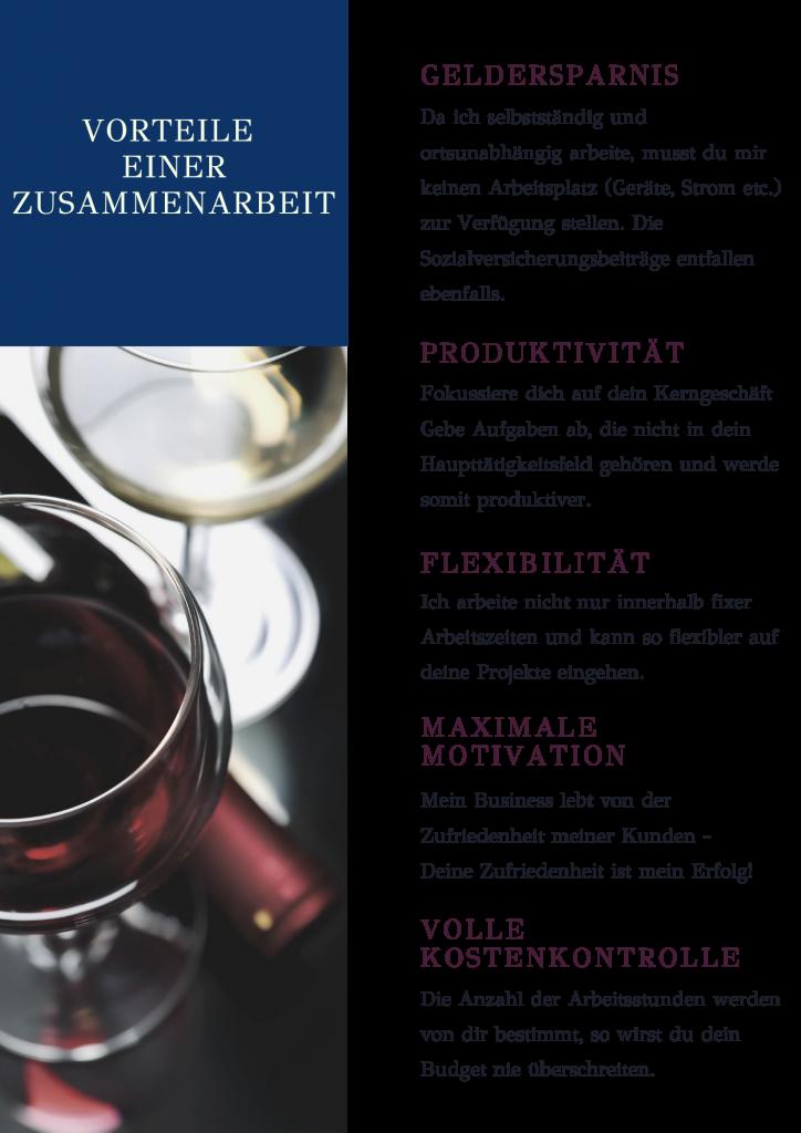 Vorteile einer Zusammenarbeit mit einer virtuellen Assistenz für Weingüter, Gastronomie und Hotellerie